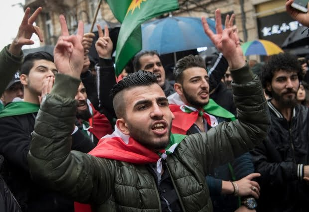 GERMANY-SYRIA-TURKEY-KURDS-CONFLICT-DEMO