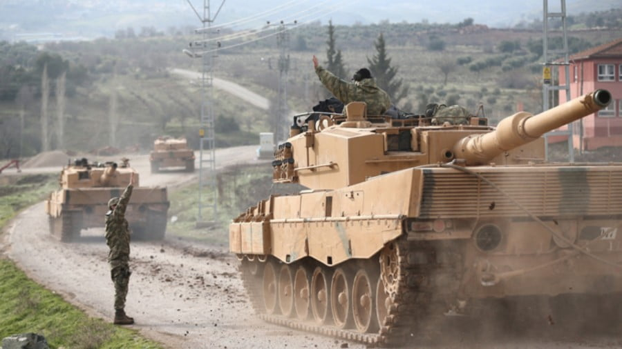 Turkish Troops Push Further into Afrin as Both Sides Report Casualties