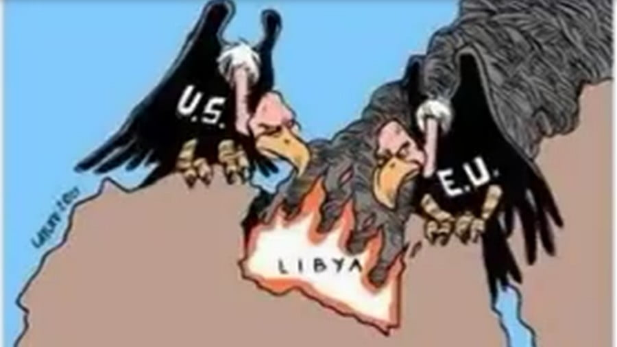 Complex Power Play in Libya