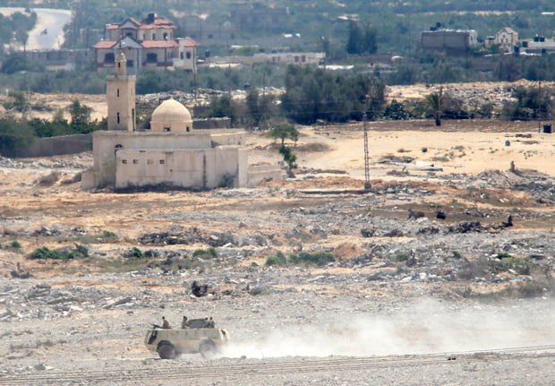 In Sinai militants are expanding their activities to target civilians (AFP)