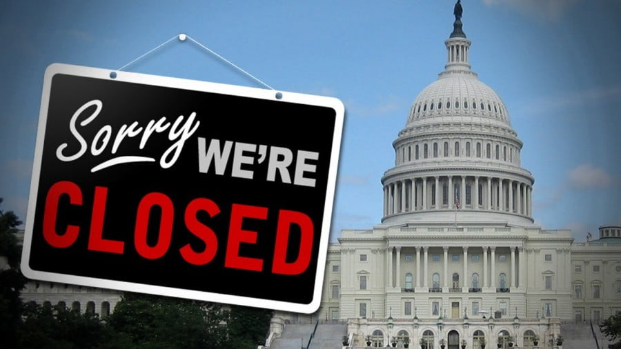 "Now that the US Government Has ""Shut Down"", Here's What Actually ""Shuts Down"""