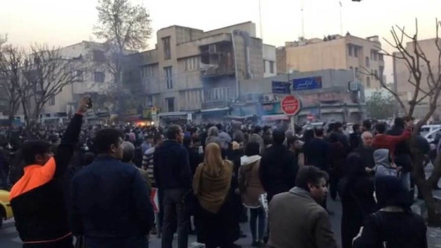 Saudis Watch Iran Protests Intently