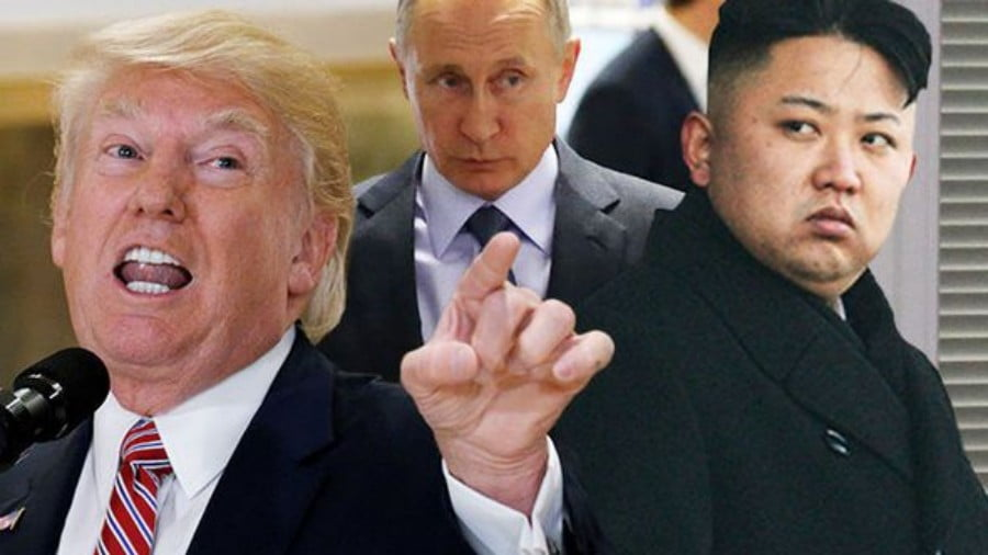 Putin Heaps Praise on Kim Jong-un Whom He Sanctioned Last Month to Accommodate US Imperialists