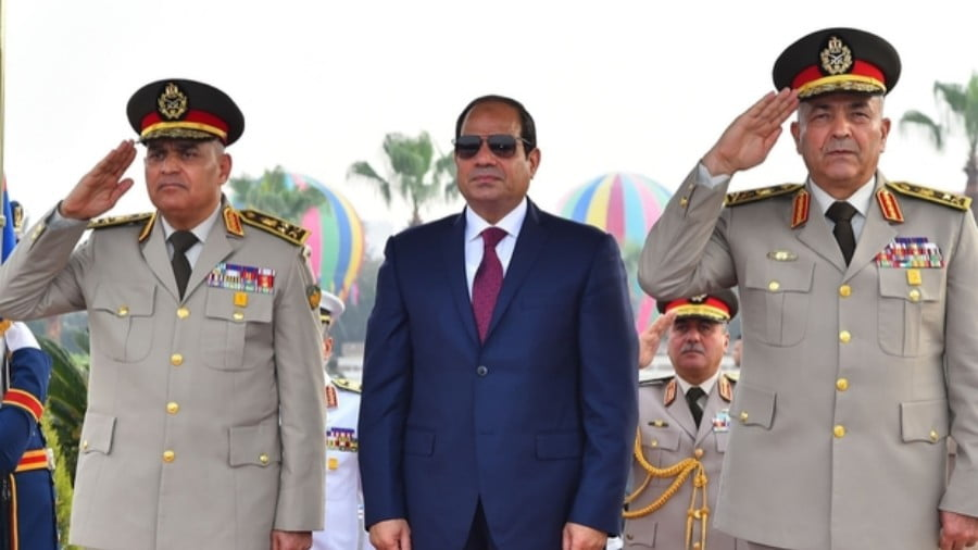 After Sisi's Purge of Rivals, Is He Safe From the Generals?