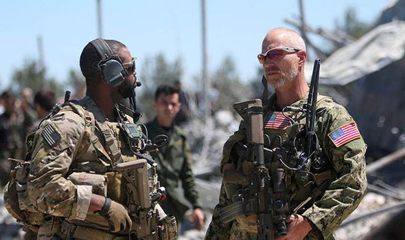 US special forces in northern Syria