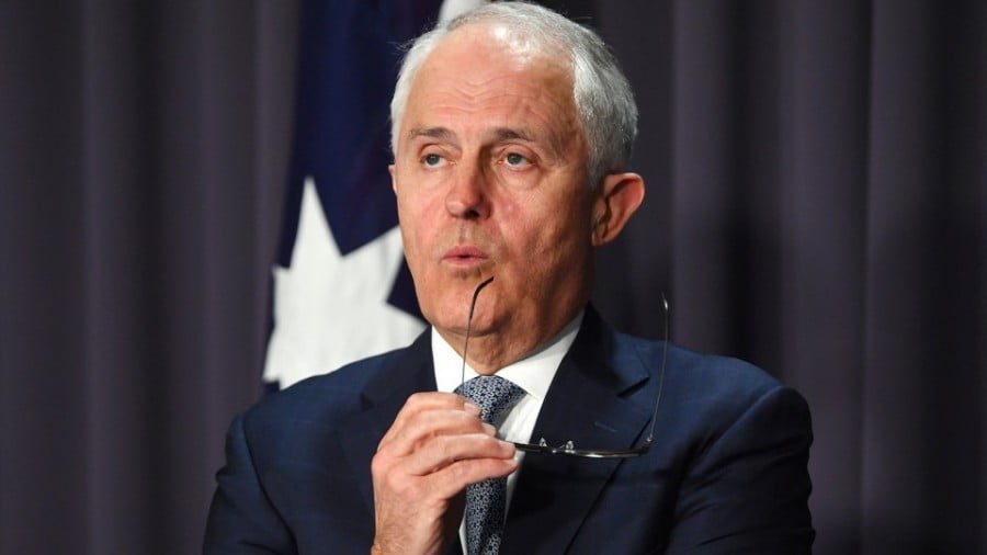 Australian Prime Minister Malcolm Turnbull is currently in Washington for talks. Photo: AAP via Reuters / Lukas Coch