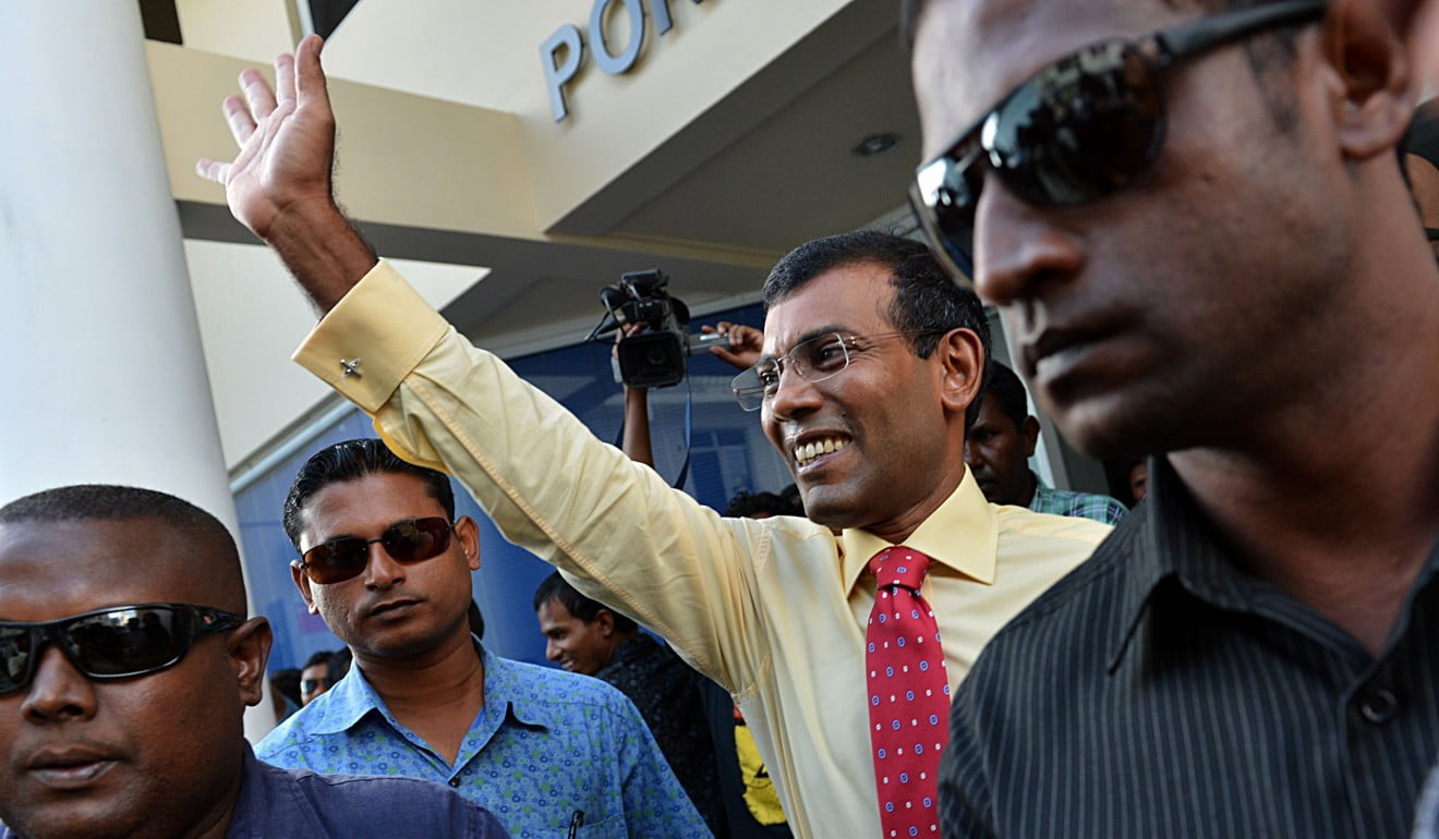 Exiled opposition leader Mohamed Nasheed is again pushing for change – by force if necessary – as his homeland spirals into crisis. Photo: AFP