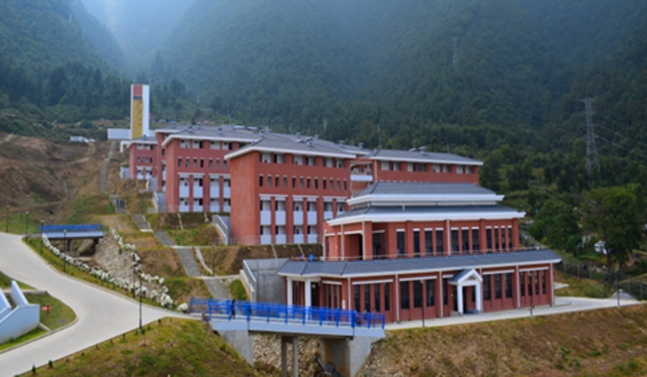 The swanky new Nepal Armed Police Force's academy, compliments of China. Photo: Handout