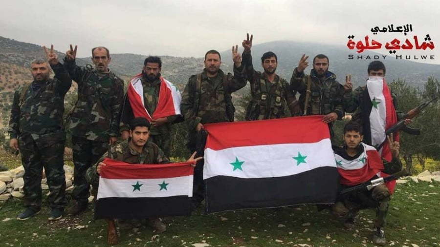 NDF on Afrin frontlines – Hundreds of fighters salaried by Damascus have reinforced Afrin against Turkey