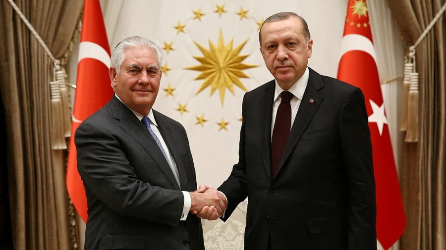 Tillerson in Turkey