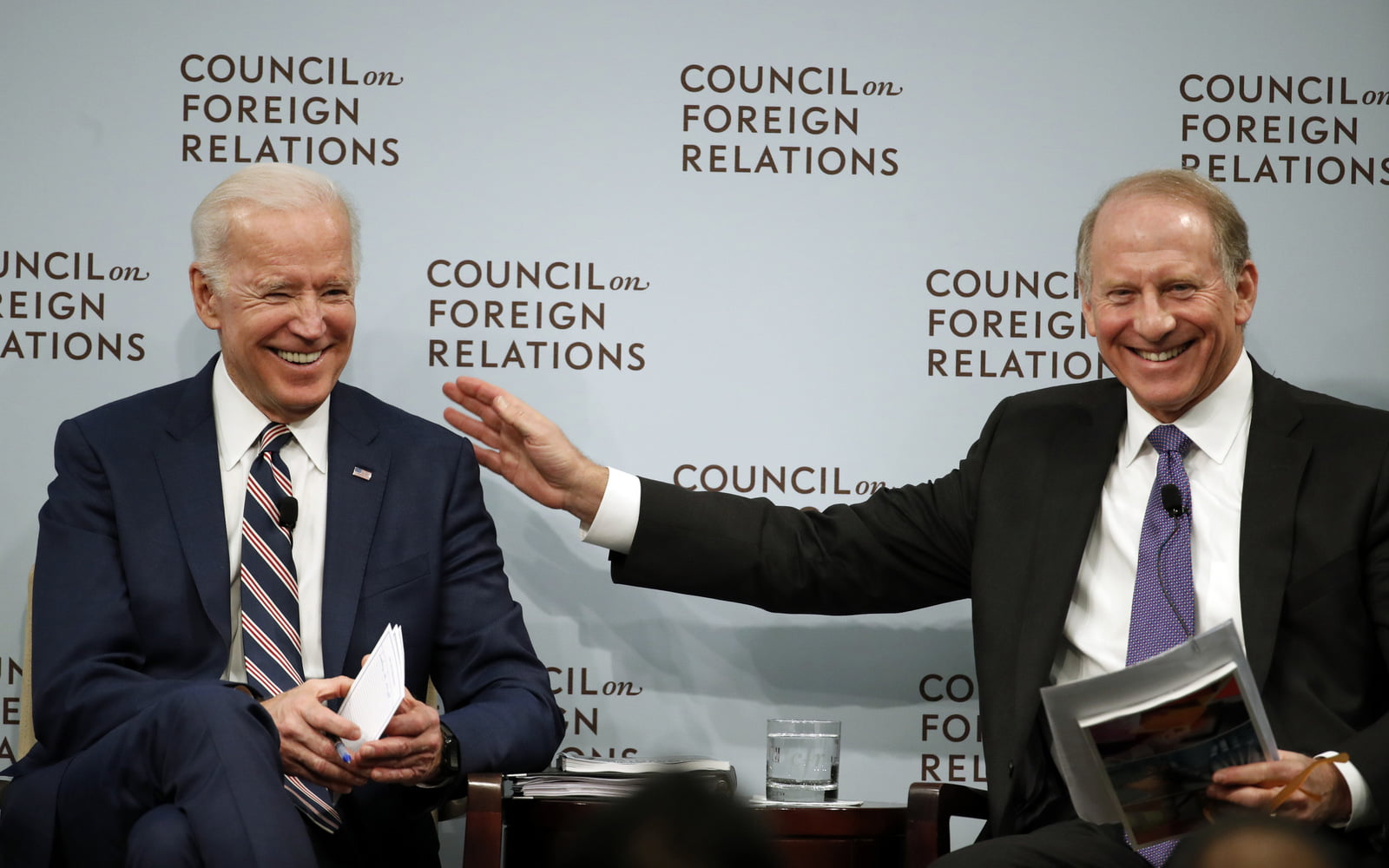 Joe Biden, Richard N. Haass