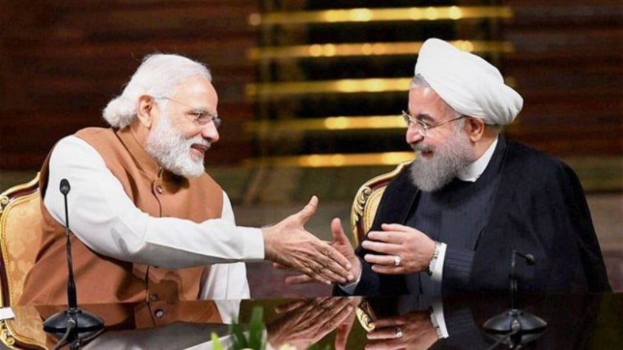 The Iranian President's Visit to India