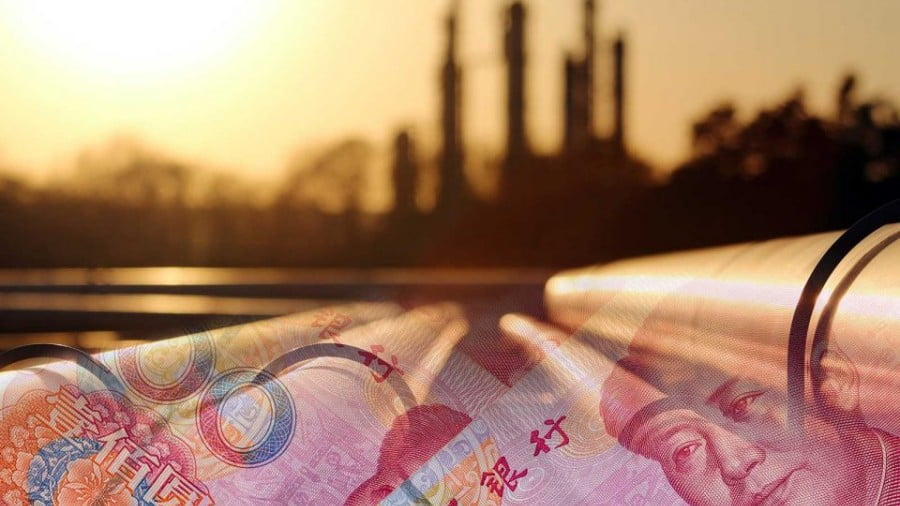 The rise of the petro-yuan may depend on China's domination of the gold market. Photo illustration: iStock