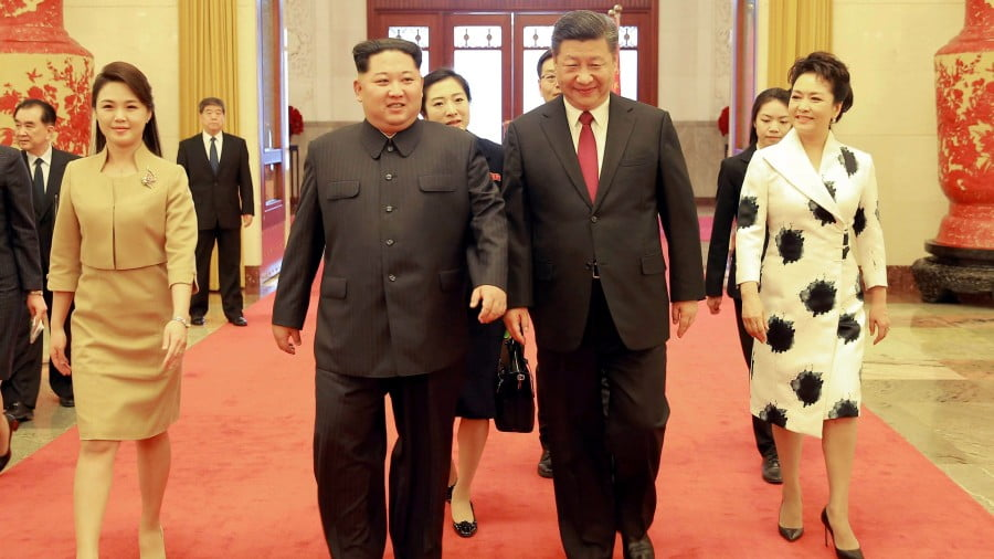 Xi Jinping and Kim Jong-un: Make Korea United Again!