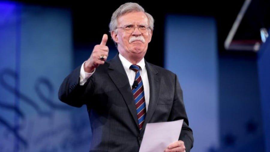 US National Security Advisor John Bolton Backs Terrorists