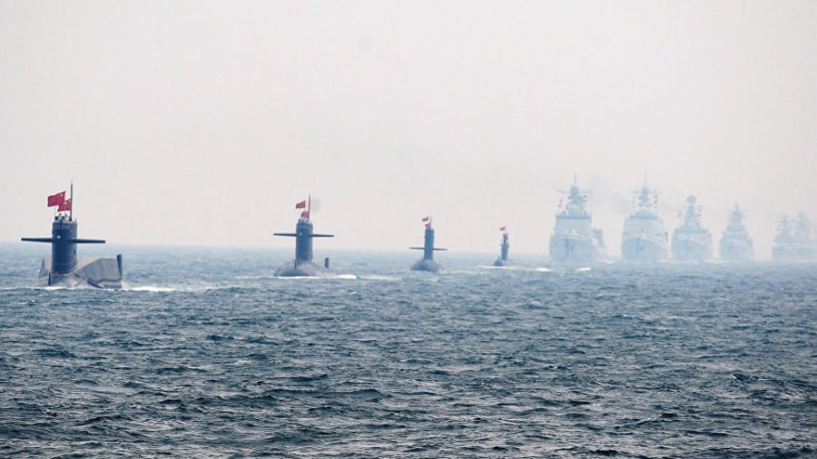 How China and the U.S. Are Spawning a New Great Power Naval Rivalry