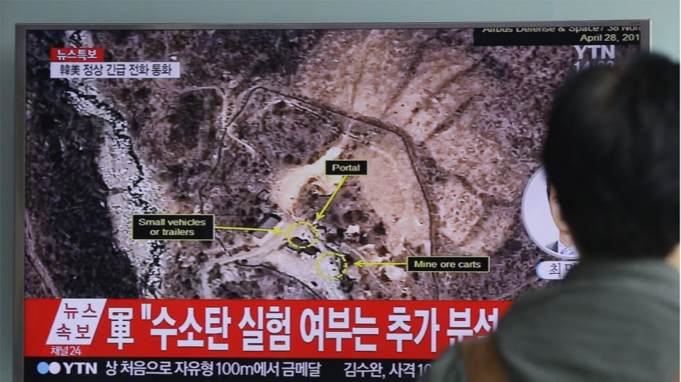 North Korea's Nuclear Test Site has Collapsed