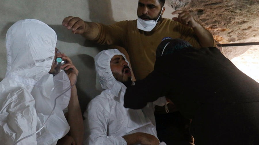 Cue the Chemical Weapons Stunt in Syria