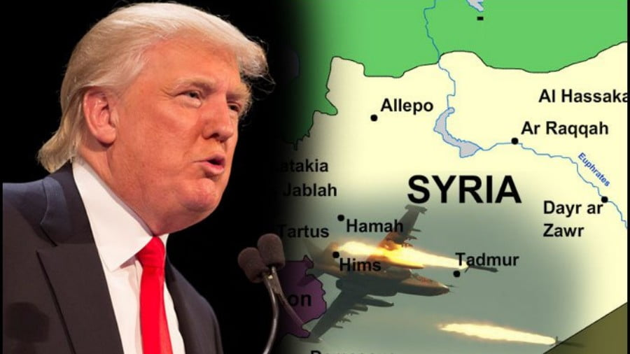 U.S. Prepares New Bombing Raid to Topple Assad in Syria