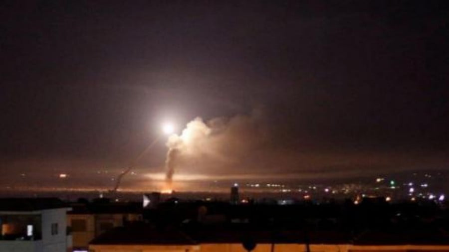 "Israeli Airstrike in Syria was ""Most Extensive Attack in Decades"""