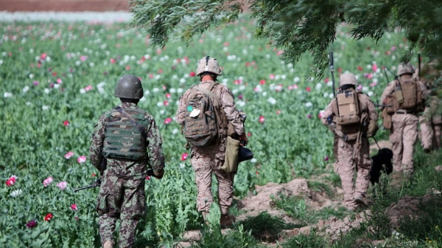 The Longer Washington Stays In, the More Drugs Fly Out of Afghanistan