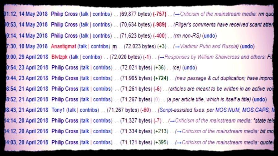 Wikipedia Is An Establishment Psyop