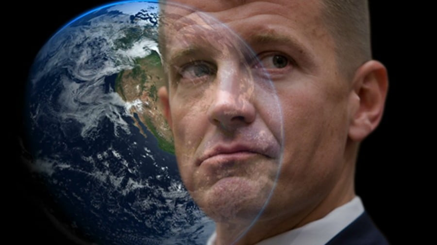 Mapping Erik Prince's Private Mercenary Empire