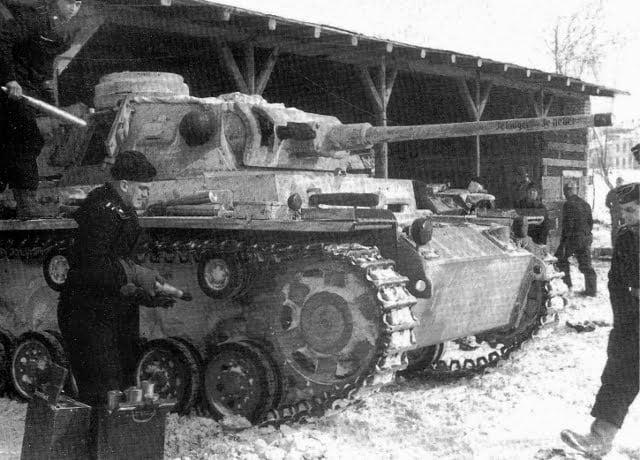 German tanks during the battle of Stalingrad. German army photos