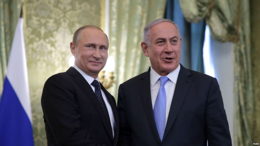 Israel's Netanyahu to be guest of honour at Russia's Victory Day Celebration