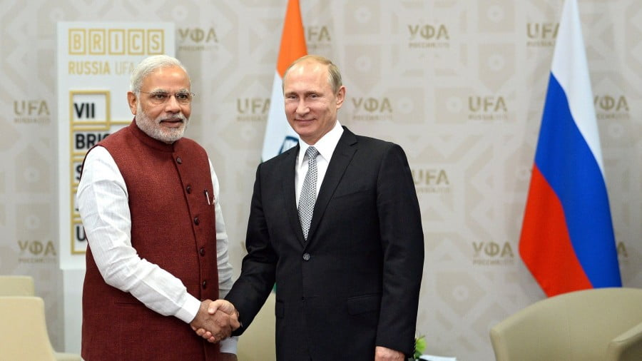Modi's Mad Dash to Putin Won't Change Russia's Foreign Policy and It Won't Change India's Either