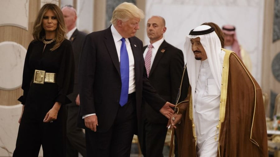 A Saudi Love Affair in Washington