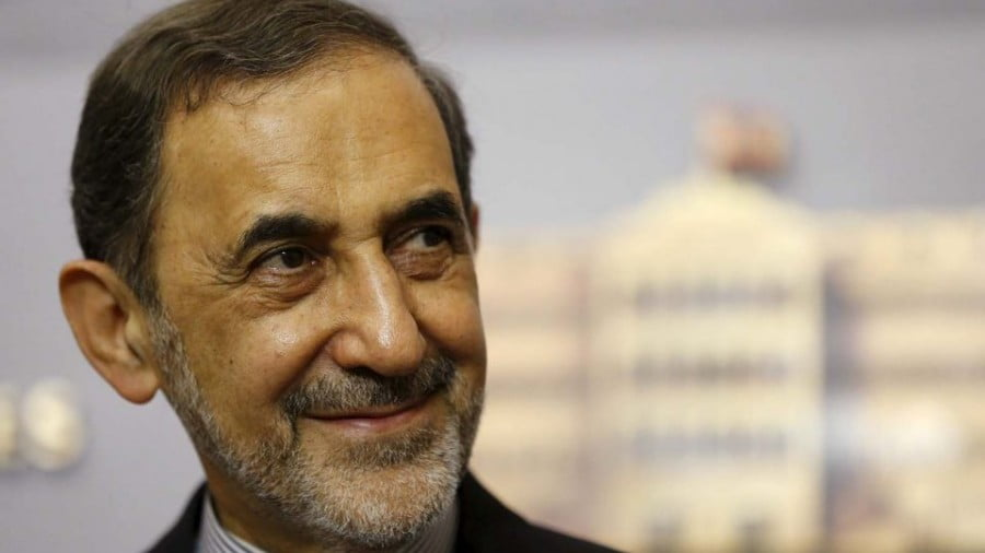 Ali Akbar Velayati, a top foreign policy adviser to Iranian Supreme Leader Ayatollah Ali Khamenei, is seen at a news conference in Beirut on May 18, 2015. Photo: Reuters/Mohamed Azakir