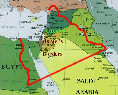 "Greater Israel"" requires the breaking up of the existing Arab states into small states."