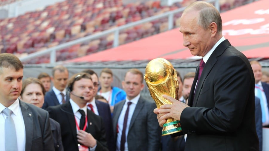 The World Cup has Political Dimensions, and They're All to Russia's Benefit