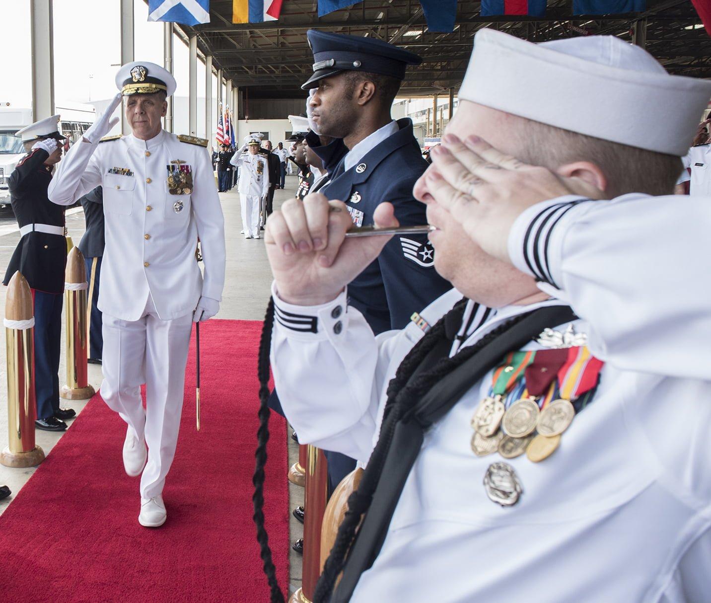 USPACOM Change of Command