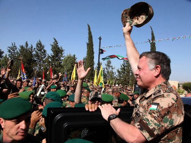 JORDAN-SYRIA-IRAQ-KING-ARMY