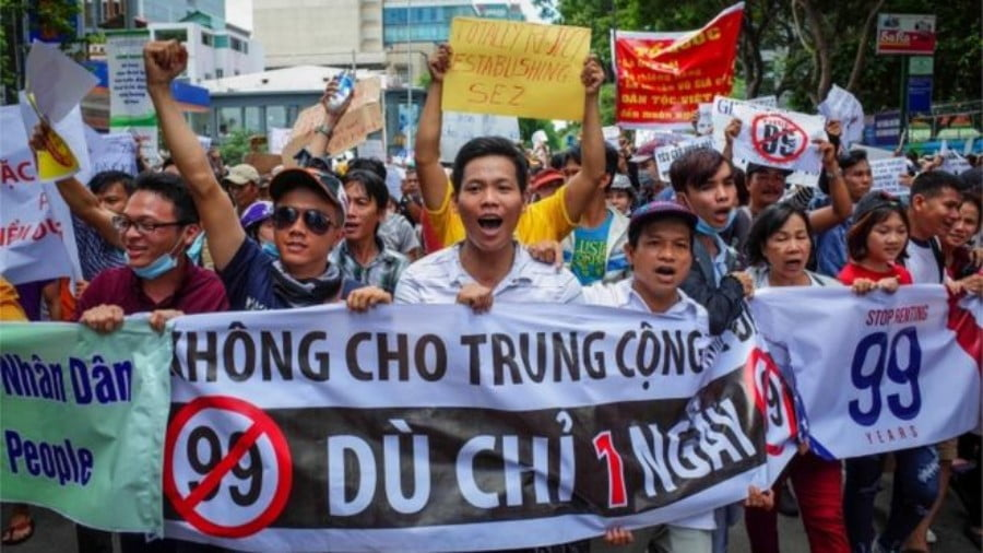 Vietnam's Protests will Complicate the Clinching of Any Pragmatic Deal with China