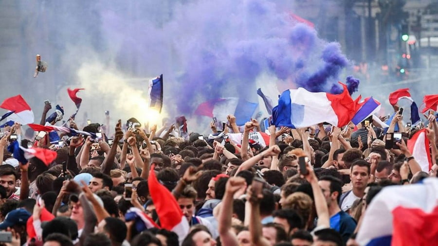 We're All French at the FIFA Final
