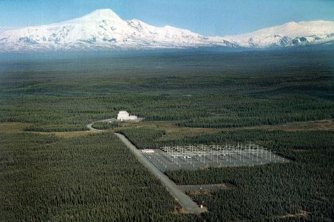 Image 1: Aerial Photo of the HAARP Alaska Site  Source:  http://www.haarp.alaska.edu/haarp/ohd.html