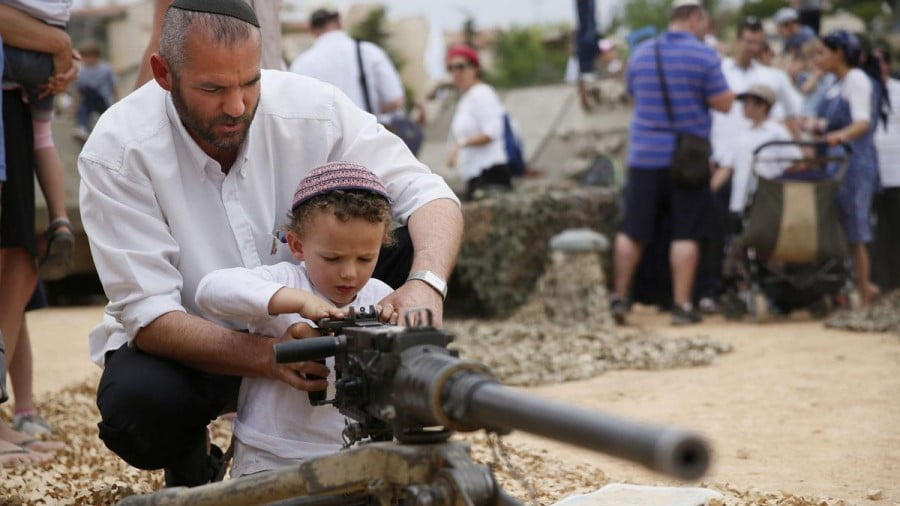 The settlers occupying Palestinian land in Hebron are the some of most violent and fanatical Zionist in the world. Hebron-area settlements are notorious hotbeds of Kahanism. American Rabbi Meir Kahane founded the JDL and Kach terror groups [file photo]