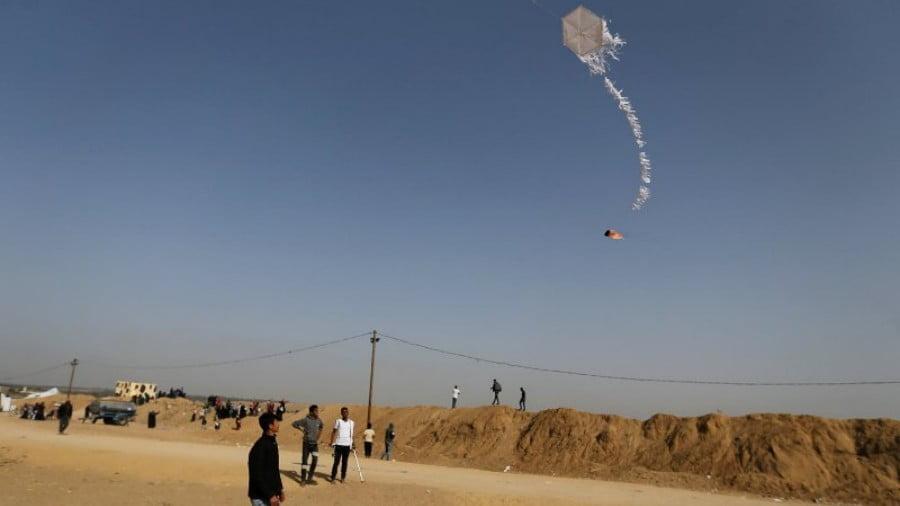 Israeli War on Gaza Over Kites?