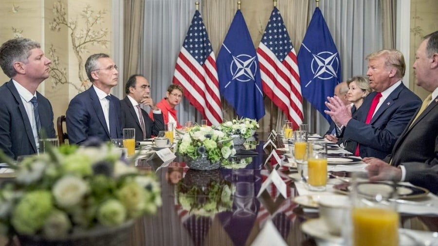Trump's Criticism of NATO Ignores the Real Questions