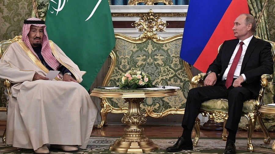 The New Russia-Saudi Partnership Has Riyadh's US Ally Over a Barrel