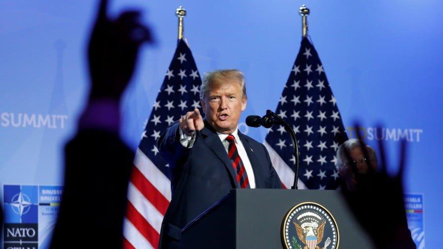 Europe Cringes Before Emperor Trump