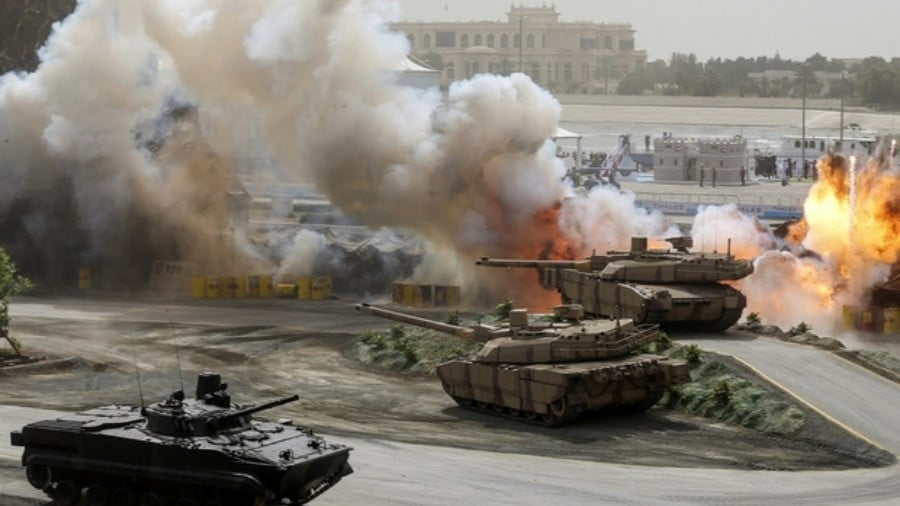 Outsourcing War: How Foreigners and Mercenaries Power UAE's Military