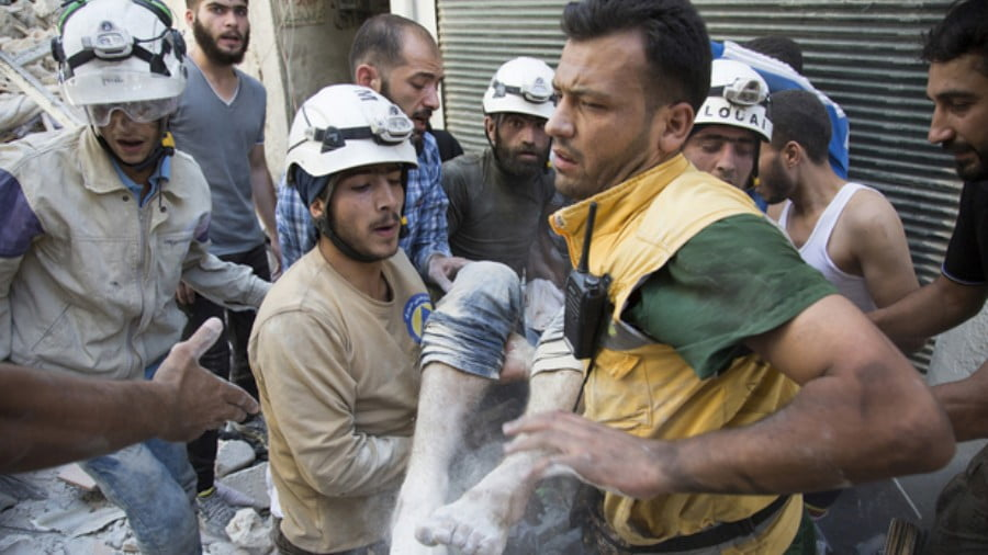 "White Helmets ""Rescued"" by Israel via Golan Heights in Overnight Operation"