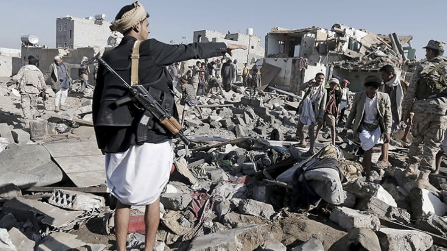 Yemen's Media Blackout — the Language of War