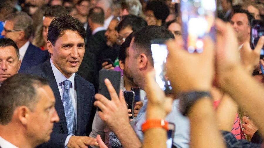 Canadian Prime Minister Justin Trudeau © Christinne Muschi / Reuters