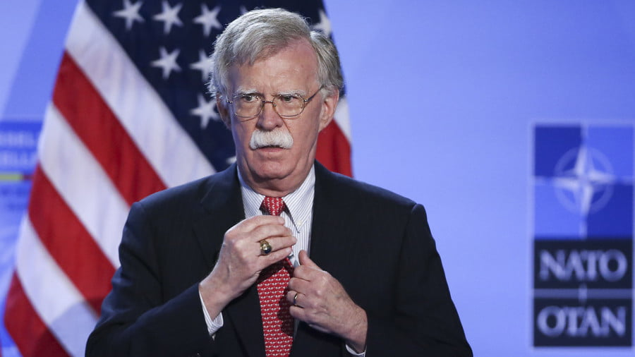 Bolton Calls on Al-Qaeda to Stage More Chemical Attacks in Syria