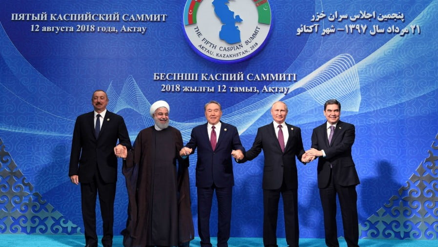 Iran's Responsible for the Caspian Summit's Success